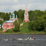 Тутаев (Романов-Борисоглебск). Храмы и дома Романовской стороны