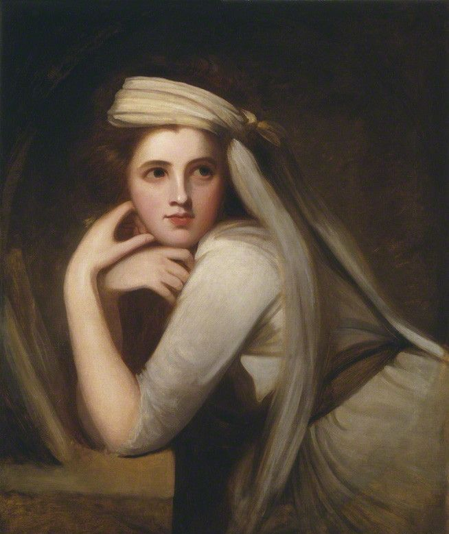 by George Romney, oil on canvas, circa 1785