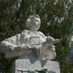 Памятник Герою Советского Союза Елене Колесовой